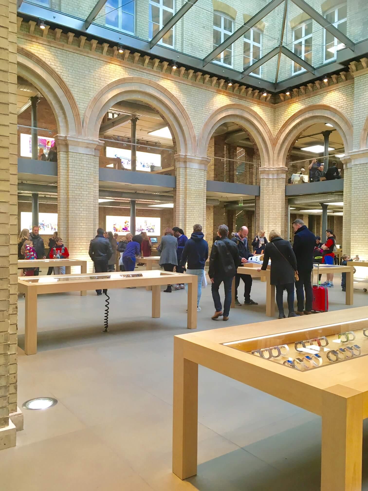 loja apple londres garden