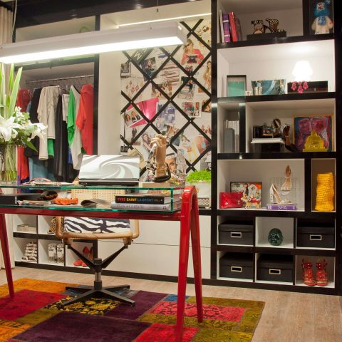 Home Office blogueira de moda