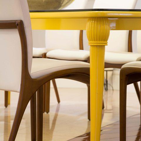 Apartamento em amarelo